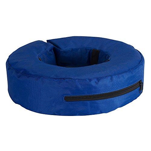 Kruuse Buster - Collar hinchable para perros (S/Azul)