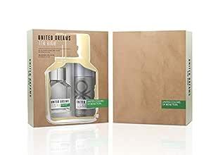 United Colors Of Benetton United Dreams Aim High Eau De Toilette 100Ml + Deodorant Spray 150Ml