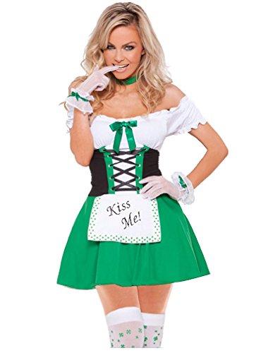 Shangrui Weibchen Cosplay Kostüm Serie Irisch Maid (Kostüme Halloween Toten Billig Braut)