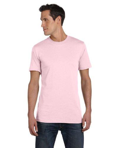 Soft Yoke (Bella+Canvas Womens Super Soft Athletic Yoke T-Shirt 3001C -Soft PINK XL)