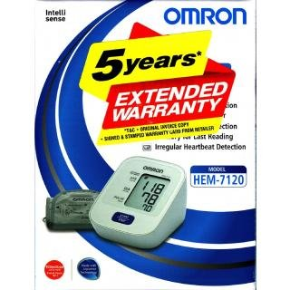 Omron-HEM-7120-Automatic-BP-Machine