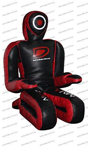 BJJ MMA Grappling Dummy 177,8cm (mit Händen und Füßen ideal für Detaillierte Beiträge wie Knöchel Schlössern, Fuß Schlösser, Ferse Haken, Bein Schlösser, Handgelenk Schlösser) -