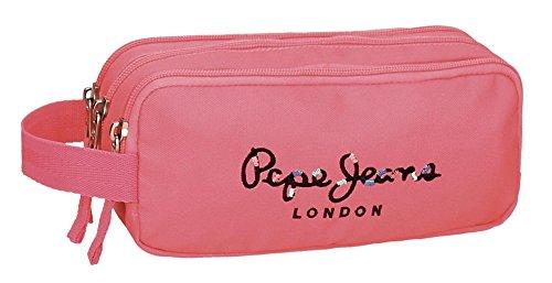 Pepe Jeans 6684757 Harlow Neceser de Viaje, 22 cm, 1.98 litros, Rosa