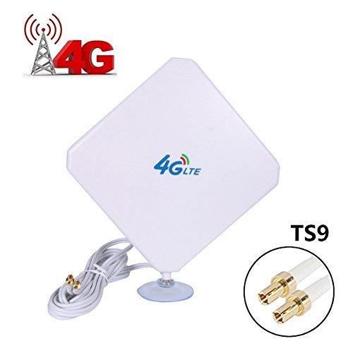URANT TS9 4G Hochleistungs LTE Antenne 35dBi Netzwerk Ethernet Verstärker-Antenne Richtantenne Signalverstärker Verstärker für Huawei E5372 E398 E3276 E392 E3272 E8278 R212 MF93 R215