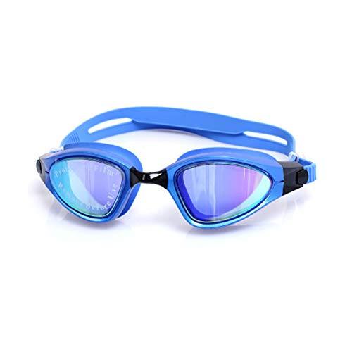 Wasserdicht und Anti-Fog-HD Schwimmbrille professionelle Männer und Frauen professionelle Vakuum hell plattiert großen Rahmen Schwimmausrüstung Schwimmbrille männlichen Erwachsenen Schwimmbrille-b -