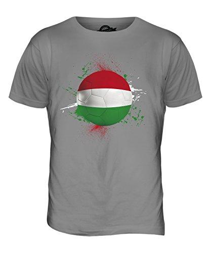 CandyMix Ungarn Fußball Herren T Shirt Hellgrau