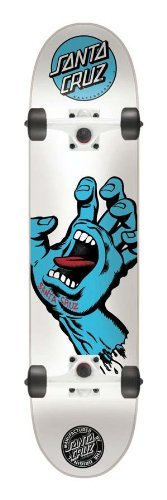 Santa Cruz Screaming Hand Complete Skateboard - 7.75 inch