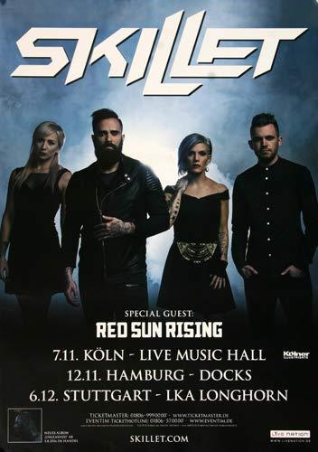 Premium Poster/Plakat   DIN A1   Live Konzert Veranstaltung » Skillet - Monster, Tour 2016 «