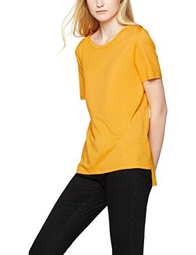 find-plain-t-shirt-donna-arancione-mango-x-large