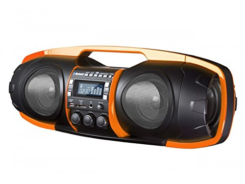 SDIGITAL Boombox Inalámbrico - Altavoz Bluetooth/USB/MP3/FM amplificador...