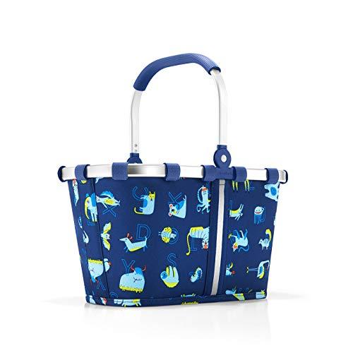 Reisenthel carrybag XS kids abc friends blue Sporttasche, 34 cm, 5 Liter, Abc Friends Blue