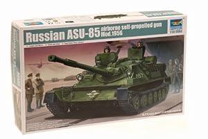Trumpeter 01588 ASU-85 - Tanque autopropulsado con lanzamisiles Miniatura