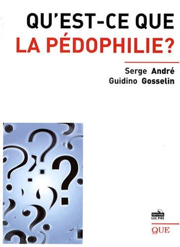 Qu'est-ce que la pédophilie ?