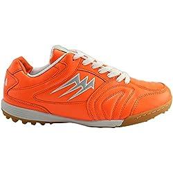 Agla F/40 Scarpe Da Futsal Outdoor, Arancione Fluo, 26.3 cm/41.5