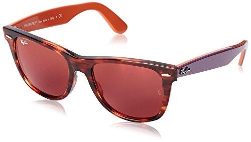 Ray-Ban occhiali da sole MOD. 2140 STRIPED HAVANA, 54
