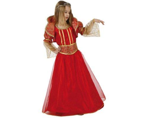 Atosa 96411 - Verkleidung Königin Rot Gr. 104 (Victoria Für Kinder Königin Kostüm)