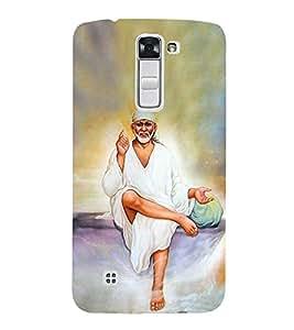 OM Shri Sai Seshasai 3D Hard Polycarbonate Designer Back Case Cover for LG K10 4G Dual
