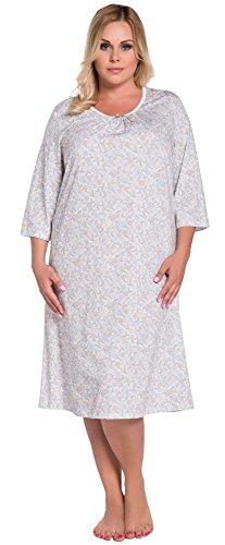 Italian Fashion IF Camicie da Notte per Donna Adele 0111 Fiori