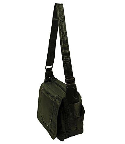 wasserabweisende Stoff Handtasche Shopper Damentasche Tasche Bag 4013-2 (Coffee) Grau