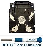 Neuf - Sony PS3 Lecteur Bluray - 120, 250 GB Slim Models - (KES-450A/ KEM-450AAA Bloc Optique) + Tournevis Nextek Torx T8 Security