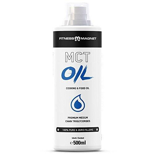 MCT OIL – Fett ohne Fett zu werden! Das ultimative Speiseöl.