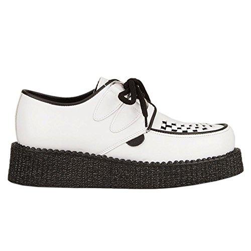 Underground Wulfrun White Womens Shoes Blanc