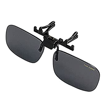 Fashion Plastic Lens Unisex Clip On Prescription Glasses