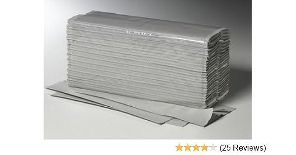 Papierhandtücher Naturell Zick-Zack-Falzung 1-lagig 250 Tücher Falthandtuch