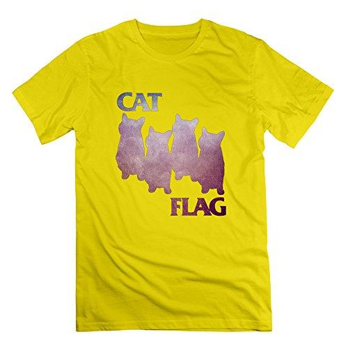 nana-mens-tshirt-cat-flag-size-3x-yellow