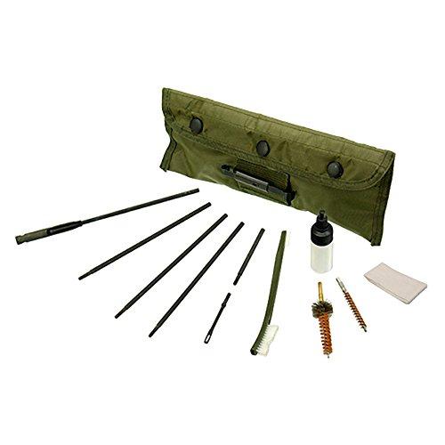 UTG Waffenreinigungsset Model 4/15 Cleaning Set, Olivgrün, TL-A041