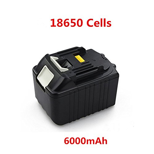 Preisvergleich Produktbild PowerWings 6,0 ah 18V bl1860 Akku Batterie für Makita BL1860 BL1850 BL1840 BL1830 6000mAh