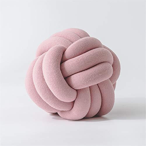 comechen Kreatives nettes Plüsch Spielzeug Puppen Kissen-Geburtstagsgeschenk, Handgefertigte geknotete Kissenbällchen Farbe10 30cm