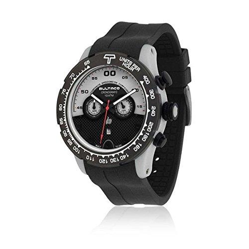 Bultaco H1PA48CSA1 - Reloj Unisex Negr