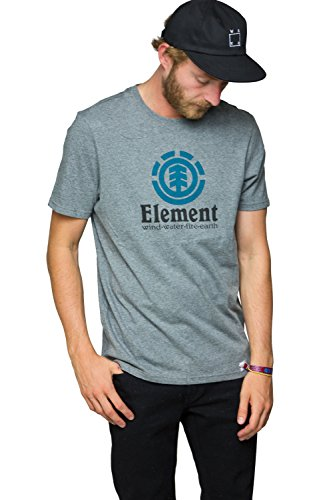 Element Vertical T-Shirt Grau
