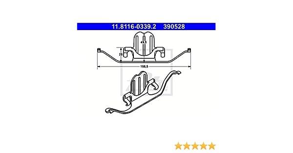 /étrier de frein ATE 11.8116-0239.2 Ressort