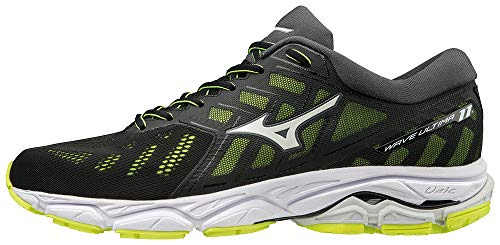 Mizuno Wave Ultima 11 Negro Amarillo J1GC1909 01