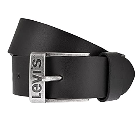 LEVIS Belt mens belt leatherbelt leather Jeans belt black ,