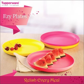 Tupperware snack plates set of 4  sc 1 th 225 & Dinner-set - Page 441 Prices - Buy Dinner-set - Page 441 at Lowest ...