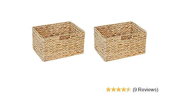 Ikea Billy Regal Korb 36 X 25 X 20 Cm Aus Wasserhyazinthe Natur Faltkorb Flechtkorb Regalbox Storage Box Aufbewahrungskorb Schrankkorb Klappbar