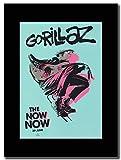 gasolinerainbows - Gorillaz - The Now Now Out June 29th - Magazin Promo-Artwork auf Einer schwarzen Halterung - Matted Mounte