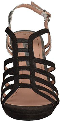 T col cinturino Scarpe a 28320 Tamaris Donna Silber con tacco fO7qqxT0