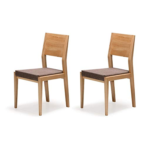 Sedie Per Tavolo Legno.Marchio Amazon Alkove Hayes Set Da 2 Sedie Per Tavolo Da