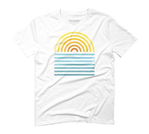 Design By Humans  Herren T-Shirt Weiß