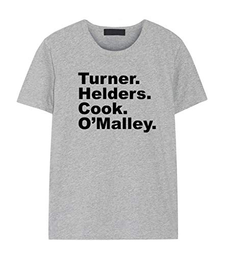Fellow Friends - Band Members Line Up T-Shirt Unisex Small Grey