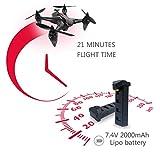 GW198 5G WiFi Brushless Drone Höhe Halten Hubschrauber Follow Me RC Drone (Farbe: schwarz)