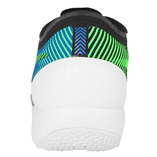 Nike Free Trainer 3.0 V4 Herren Turnschuhe Schwarz / Grün / Blau / Weiß (Schwarz / Grün Streik-Soar-weiß)