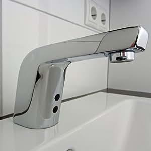 anschlussfertiges komplettpaket sensor wasserhahn kaltwasser incl batterien baumarkt. Black Bedroom Furniture Sets. Home Design Ideas