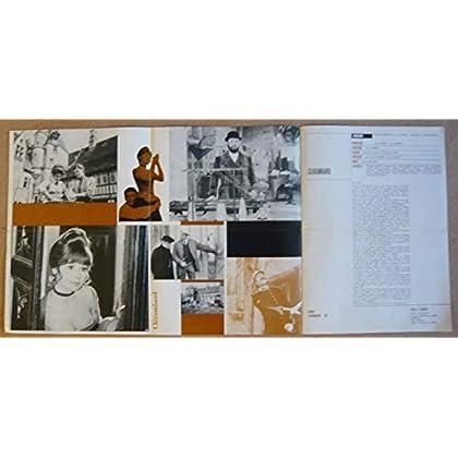 Dossier de presse de Clérambard (1969) – Film de Yves Robert avec Philippe Noiret, Dany Carrel, Lise Delamare – Photos N&B + couleurs – résumé du scénario – Bon état.