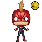 Funko Pop! Chase - Figurine Vinyle Captain Marvel Captain Marvel (36341)