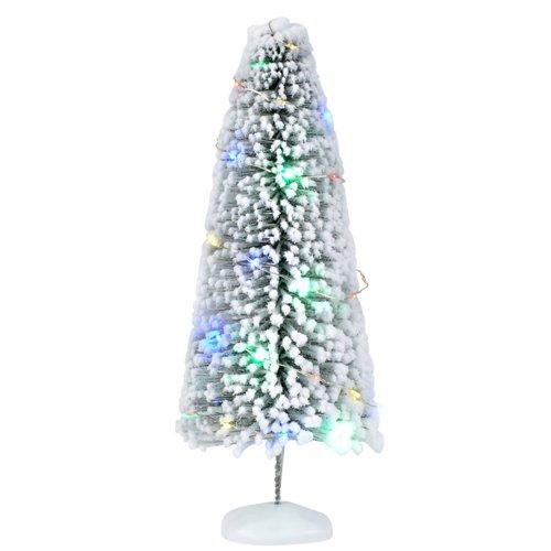 Department 56 Zubehör für Dorf-Kollektionen, beleuchteter Sisal-Baum, 26 cm, Mehrfarbig -